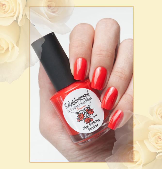 EL Corazon - Kaleidoscope Красотека №Кr-05 Мулен Руж, красный лак для ногтей