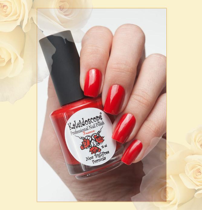 EL Corazon - Kaleidoscope Красотека №Кr-08 Роковая женщина, красный лак для ногтей