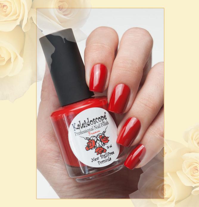 EL Corazon - Kaleidoscope Красотека №Кr-09 Багряный закат, красный лак для ногтей